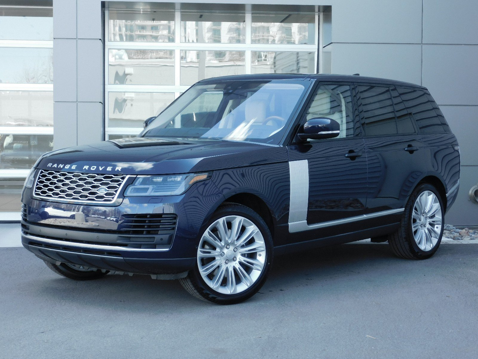 Land Rover Range Rover >> New 2019 Land Rover Range Rover Hse 4wd
