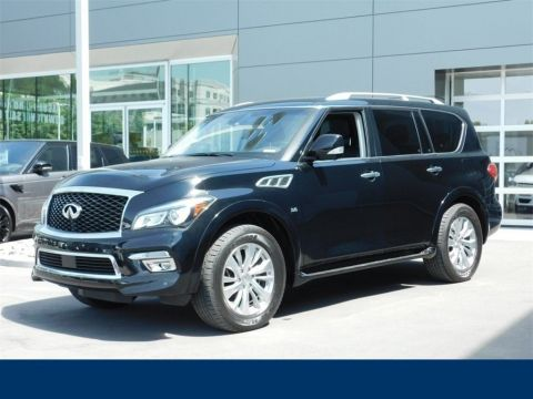 Pre-Owned 2017 INFINITI QX80 WAGON 4 DOOR